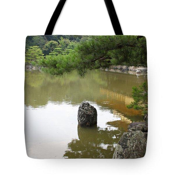 Lake In Japan Tote Bag by Evgeny Pisarev