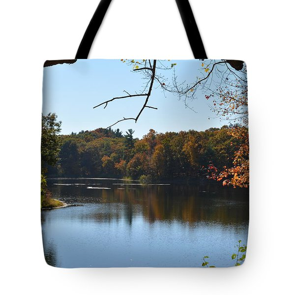 Lake In The Catskills Tote Bag by Kenneth Cole