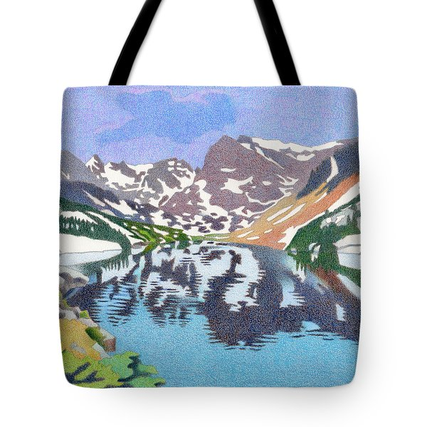 Lake Isabelle Colorado Tote Bag