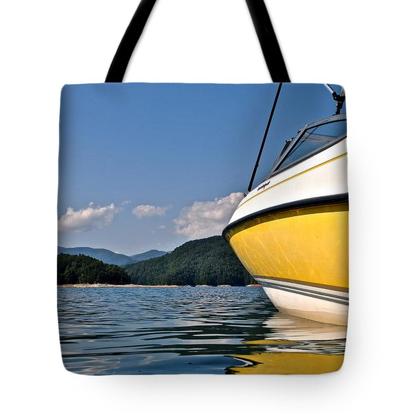 Lake Jocassee Tote Bag by Frozen in Time Fine Art Photography