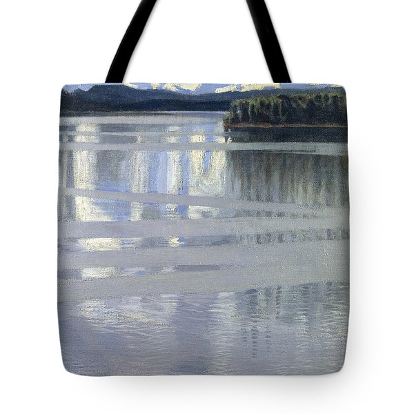 Lake Keitele Tote Bag
