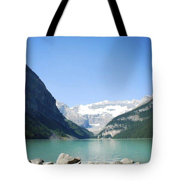 Lake Louise Alberta Canada Tote Bag