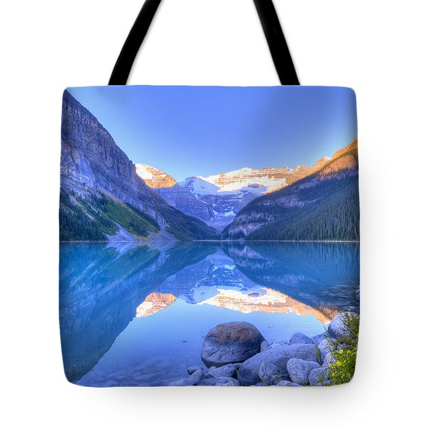 Lake Louise Tote Bag by Wanda Krack
