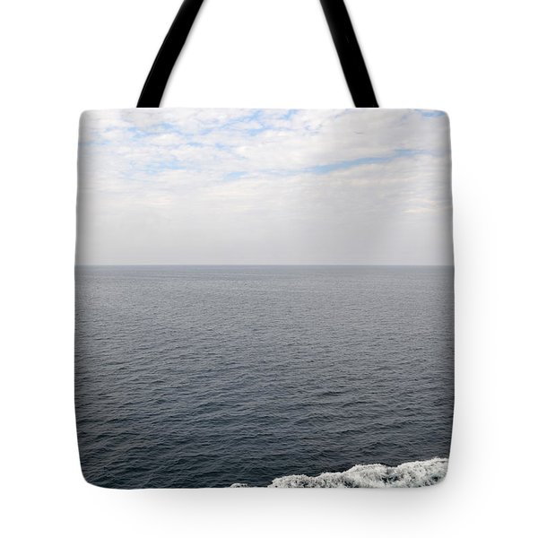 Lake Michigan Midpoint Tote Bag