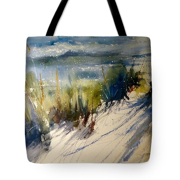 Lake Michigan October Tote Bag