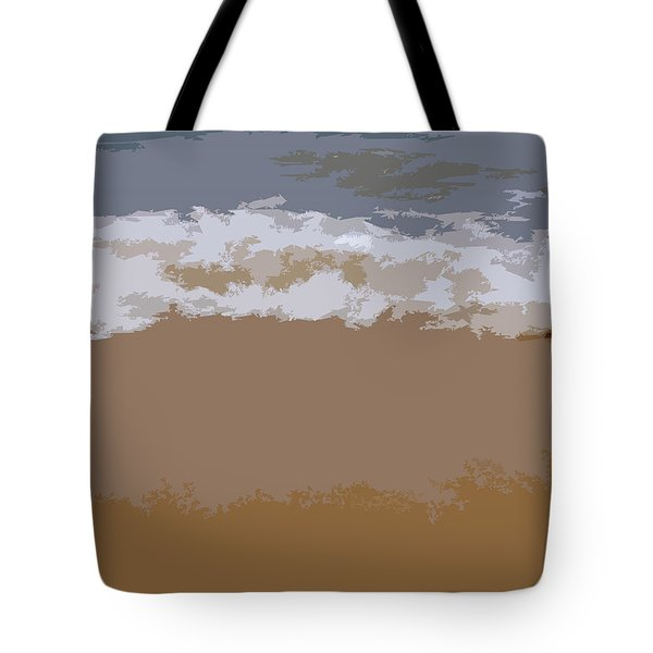 Lake Michigan Shoreline Tote Bag