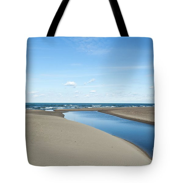 Lake Michigan Waterway  Tote Bag