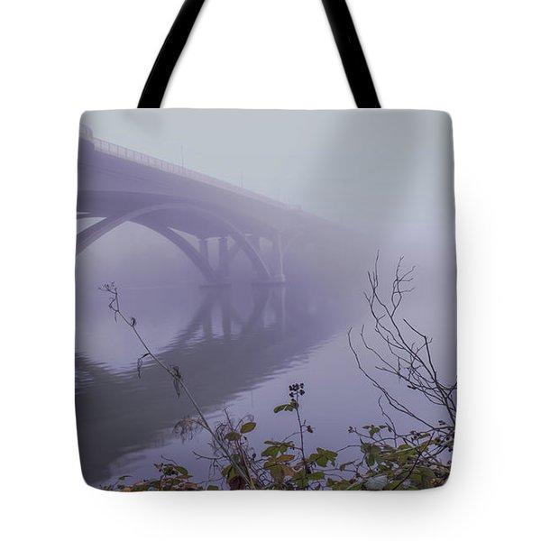 Lake Natoma Crossing Tote Bag