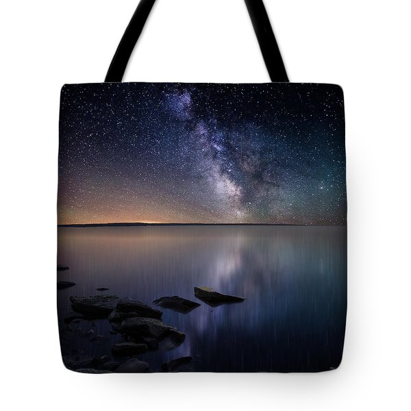 Lake Oahe Tote Bag