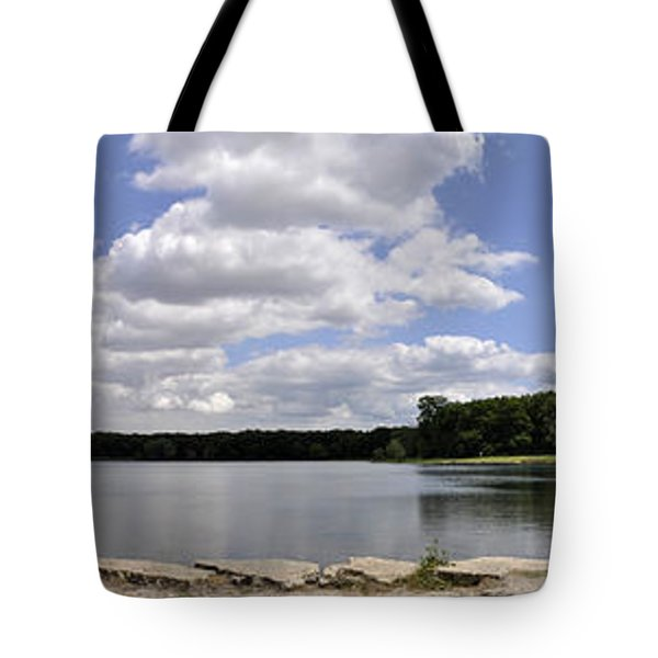 Tote Bag featuring the photograph Lake Of Dreams by Verana Stark
