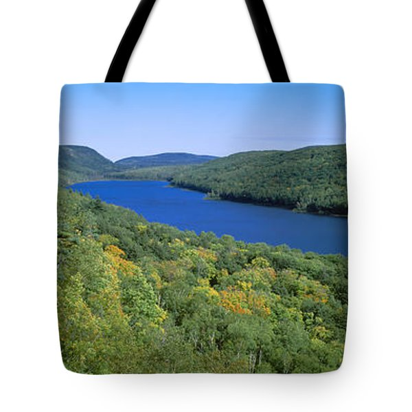 Lake Of The Clouds In Porcupine Tote Bag