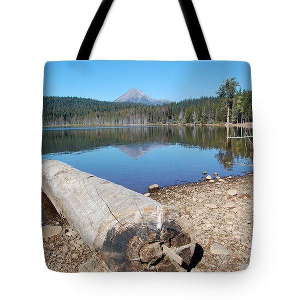 Tote Bag featuring the photograph Lake Of The Woods 3 by Debra Thompson