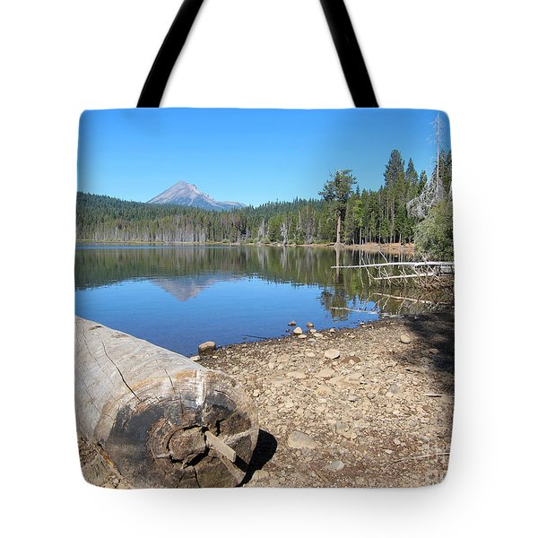 Tote Bag featuring the photograph Lake Of The Woods 5 by Debra Thompson