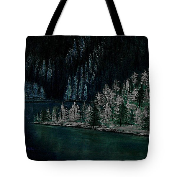 Lake Of The Woods Tote Bag by Barbara St Jean