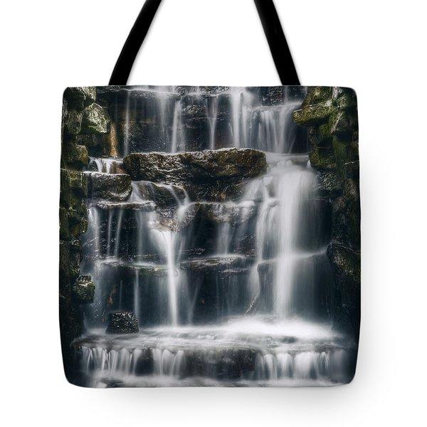 Lake Park Waterfall 2 Tote Bag