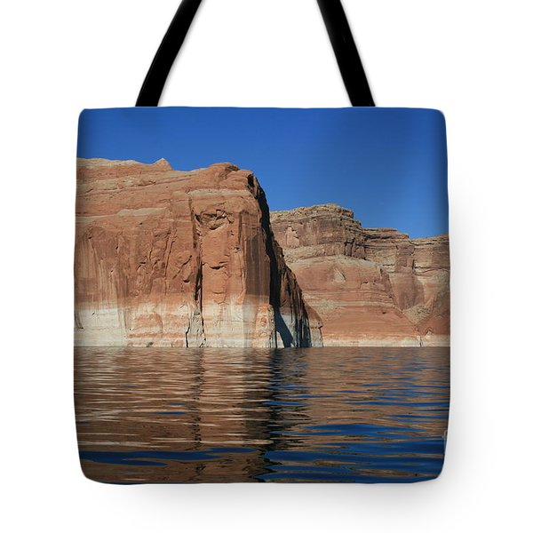 Lake Powell Cliffs Tote Bag