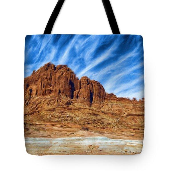 Lake Powell Rocks Tote Bag by Ayse and Deniz