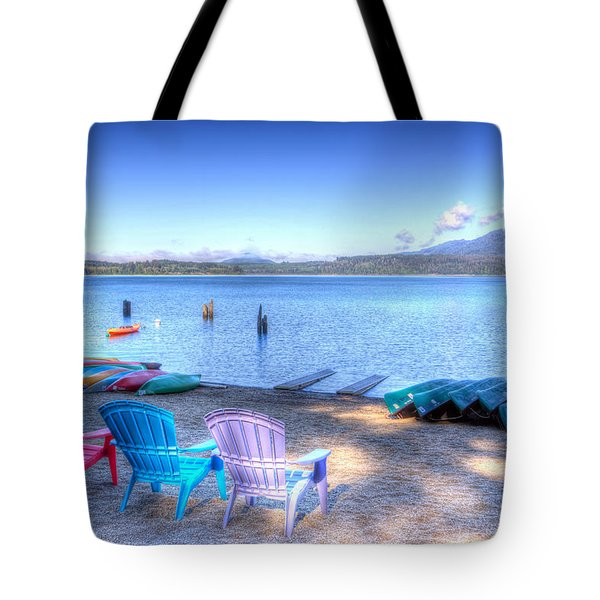 Lake Quinault Dream Tote Bag by Heidi Smith