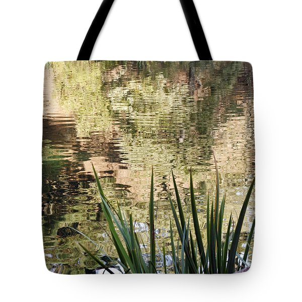 Tote Bag featuring the photograph Lake Reflections by Kate Brown