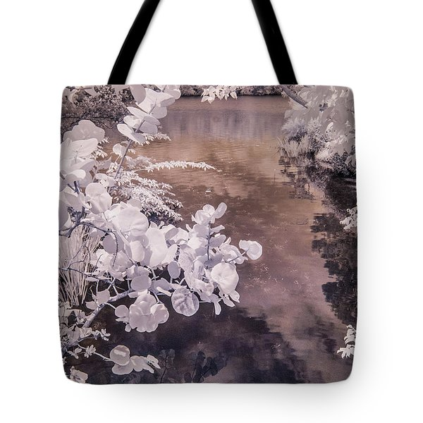 Lake Shadows Tote Bag