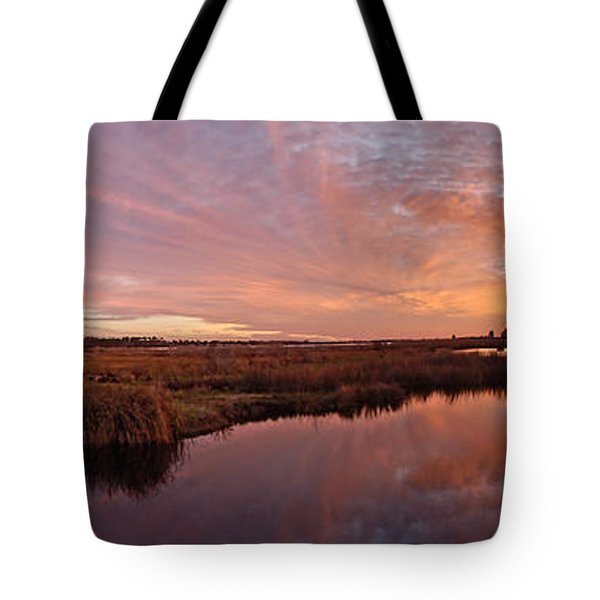 Tote Bag featuring the digital art Lake Shelby Bridge by Michael Thomas
