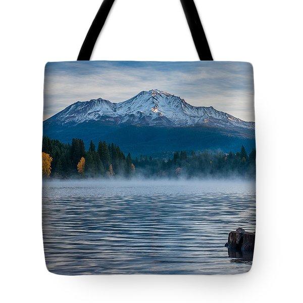Lake Siskiyou Morning Tote Bag