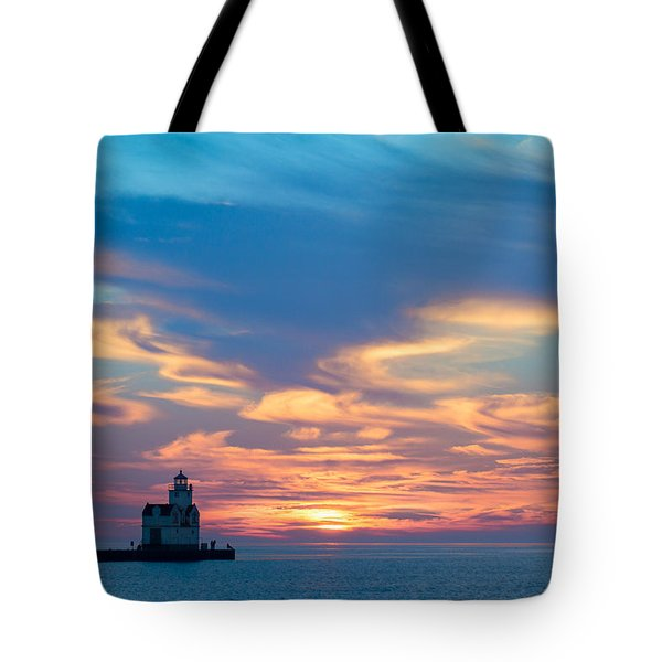 Lake Spirits Rising Tote Bag