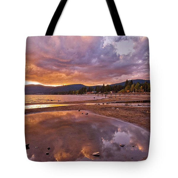 Tote Bag featuring the photograph Lake Tahoe by Mae Wertz