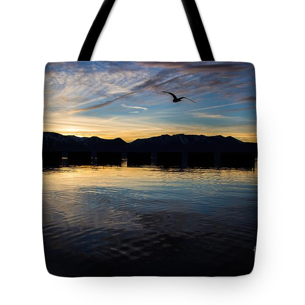 Lake Tahoe Sunset Tote Bag