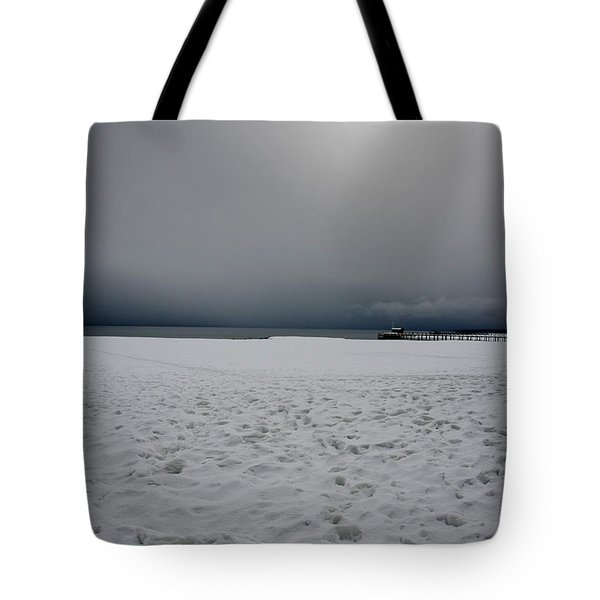 Lake Tahoe Winter Tote Bag