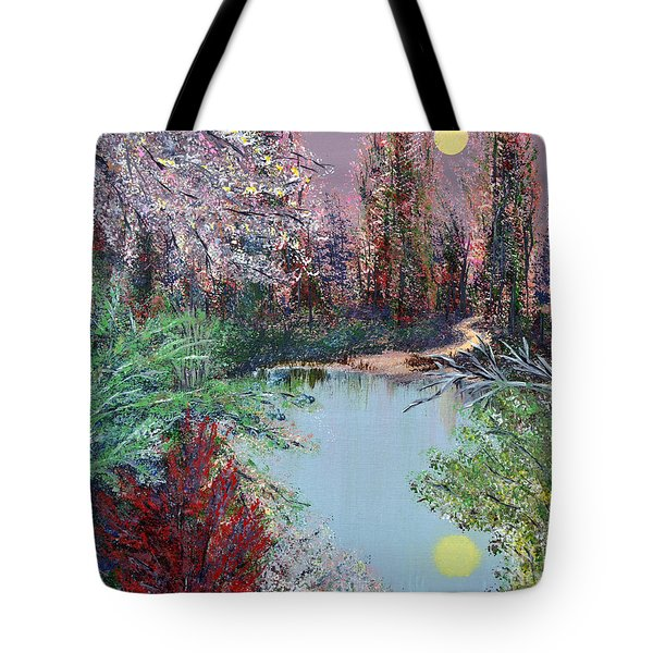 Lake Tranquility Tote Bag