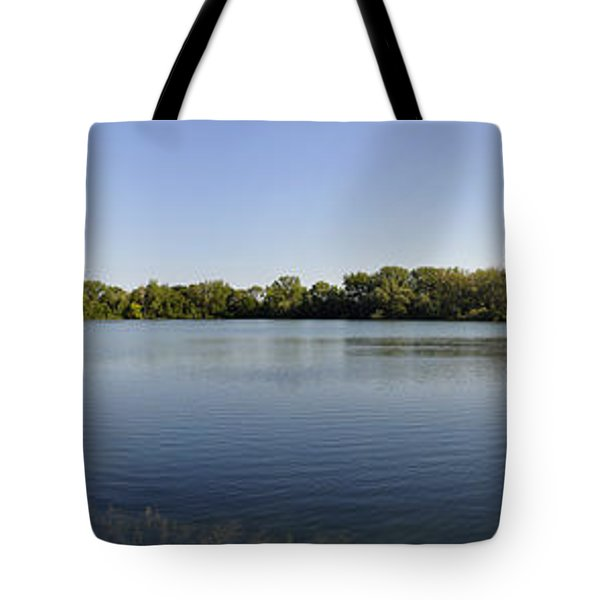 Tote Bag featuring the photograph Lake Victory by Verana Stark
