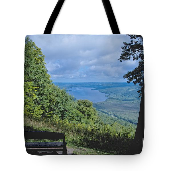 Lake Vista Tote Bag by William Norton