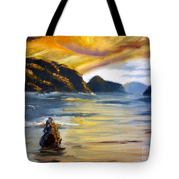 Lake Wahatipu Queenstown Nz Tote Bag