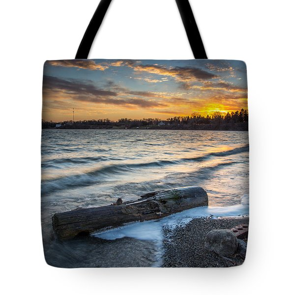 Lake Yankton Minnesota Tote Bag