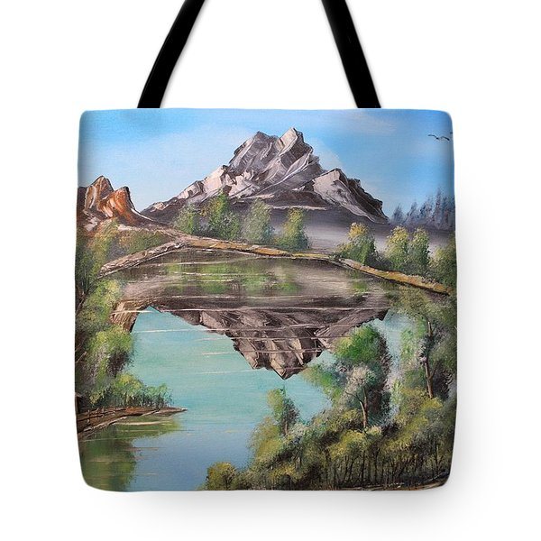 Lakehouse Tote Bag