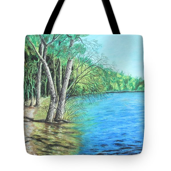 Lakeland 2 Tote Bag by Jeanne Fischer