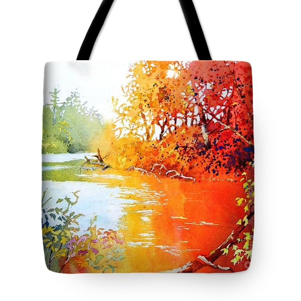 Lakescene 1 Tote Bag