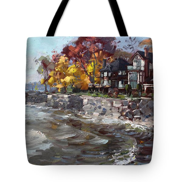 Lakeshore Mississauga Tote Bag