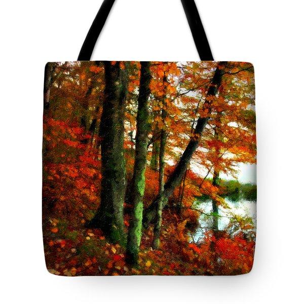 Lakeside Beauty Tote Bag
