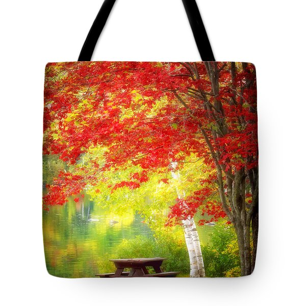 Lakeside Haven Tote Bag