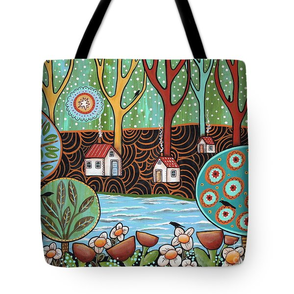 Lakeside1 Tote Bag by Karla Gerard
