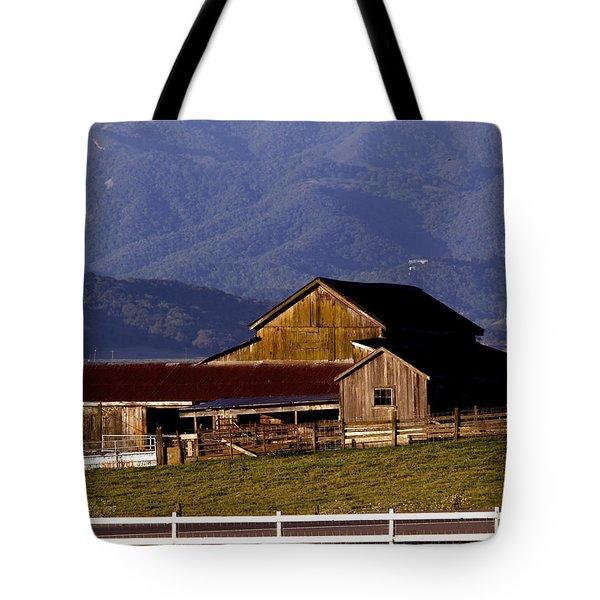 Lakeville Barn Tote Bag