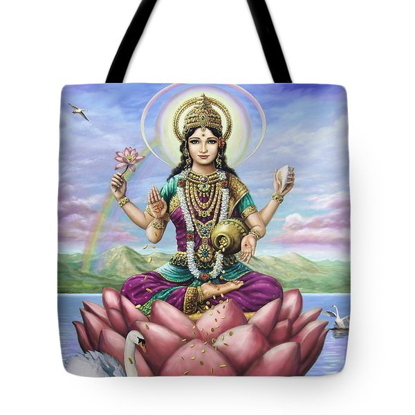 Lakshmi Goddess Of Fortune Tote Bag