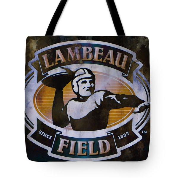 Lambeau Field Tote Bag