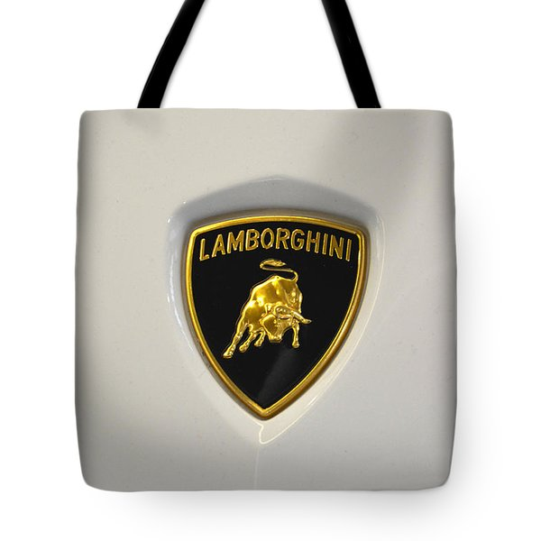 Lamborghini Badge Tote Bag