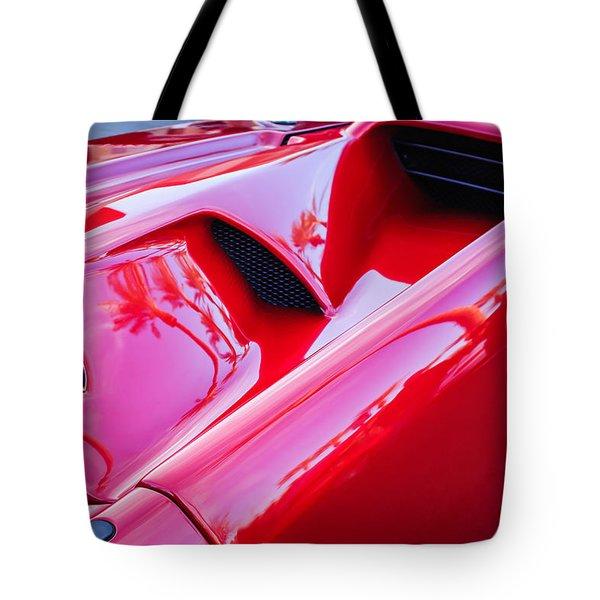 Lamborghini Side Emblem -0116c Tote Bag by Jill Reger