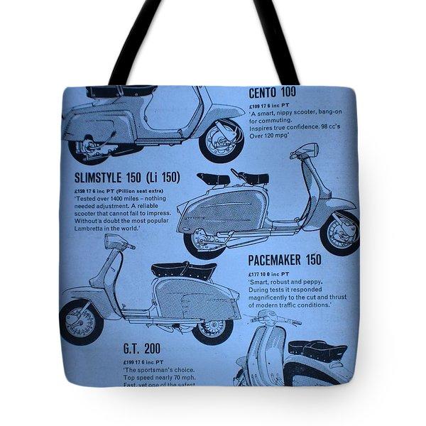 Lambretta Style Tote Bag