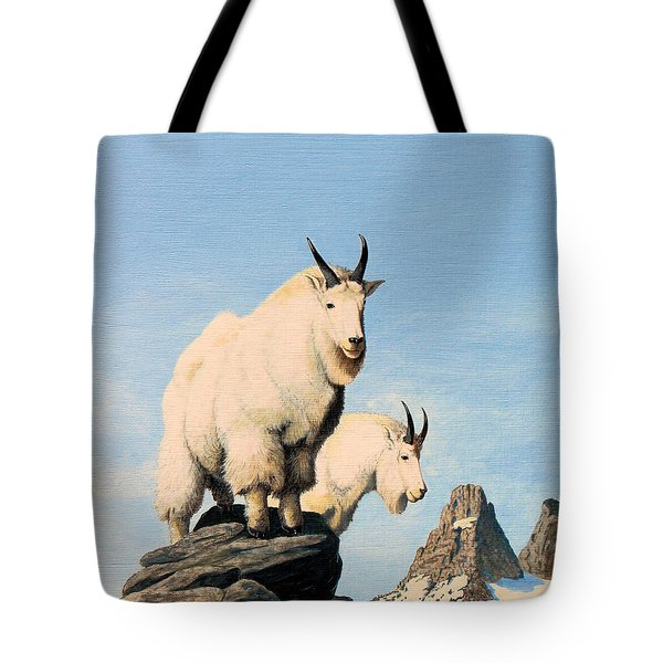 Lamoille Goats Tote Bag