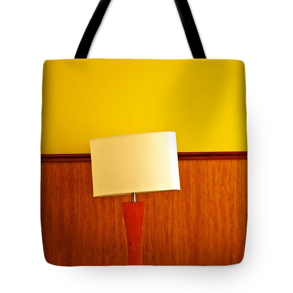 Lamp And Desk Tote Bag by Jess Kraft
